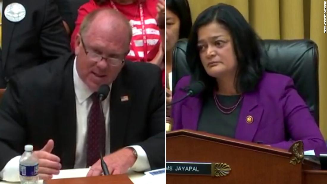See former ICE director's heated exchange with lawmaker