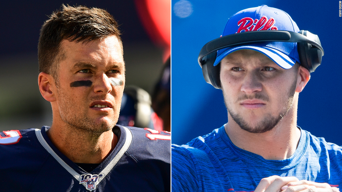 The undefeated Patriots and Bills will face off this NFL Sunday
