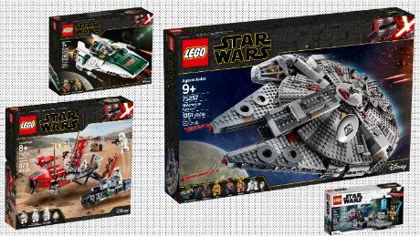 Lego Unveils Nine Star Wars Sets To Celebrate Triple Force