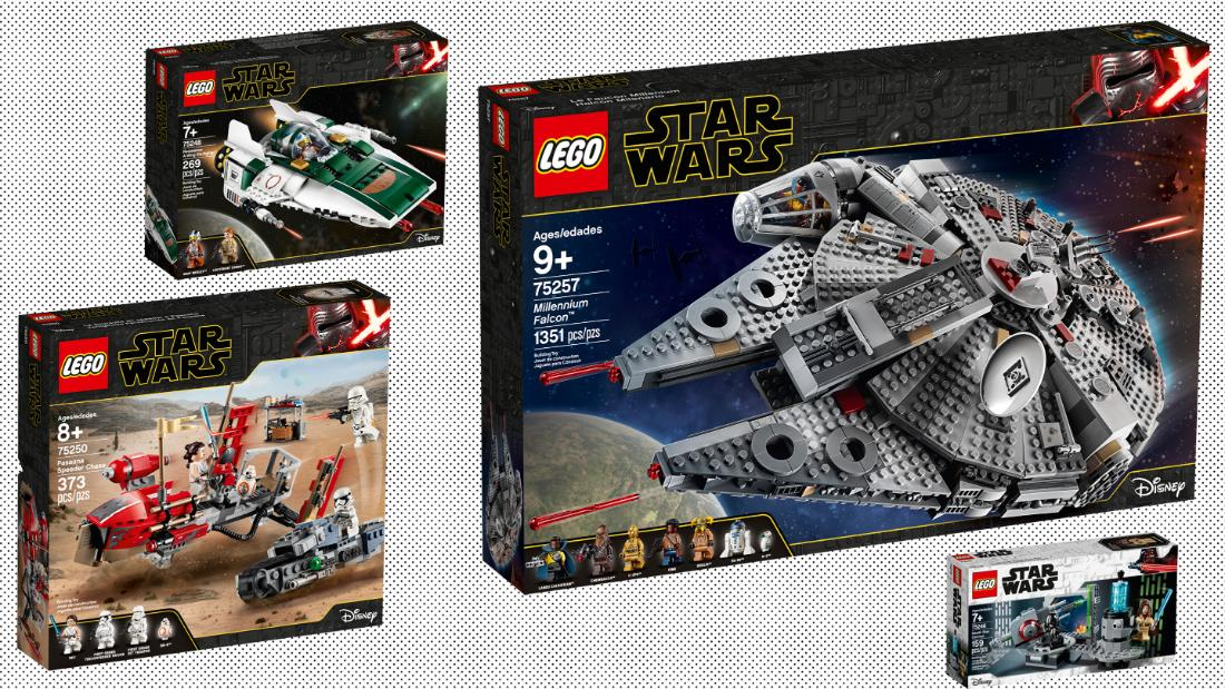 Lego Unveils Nine Star Wars Sets To Celebrate Triple Force Friday