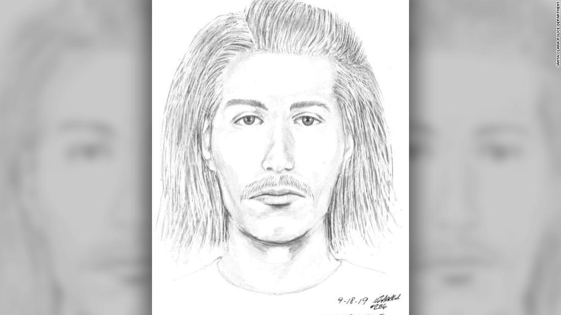 California polisi sedang mencari tersangka yang menyerang 91 tahun laki-laki seperti dia mengunjungi makam istrinya