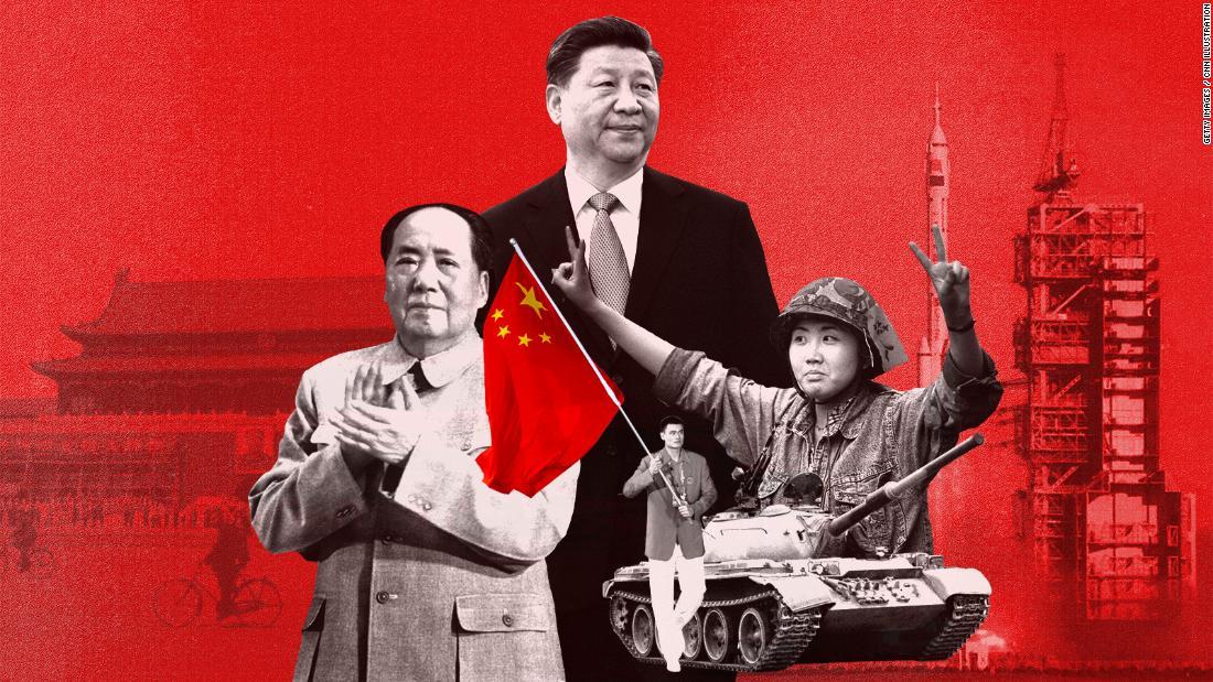 70 tahun Republik Rakyat Cina dalam lima grafis