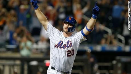 Home Run Derby 2020 Players.Pete Alonso Of The New York Mets Breaks Mlb S Rookie Home