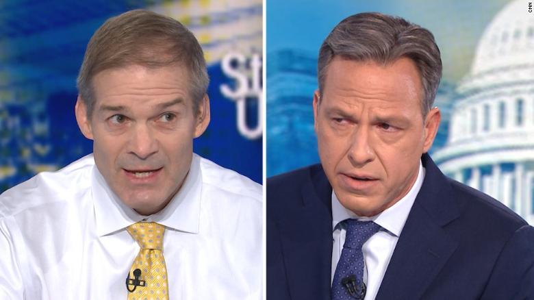 Tapper fact-checks Rep. Jordan on Ukraine scandal