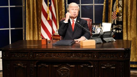 "SATURDAY NIGHT LIVE -- ""Woody Harrelson"" Episode 1768 -- Pictured: Alec Baldwin as Donald Trump during the ""Impeachment"" Cold Open on Saturday, September 28, 2019 -- (Photo by: Will Heath/NBC/NBCU Photo Bank via Getty Images)"