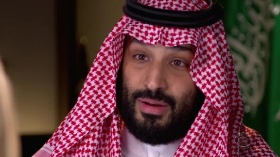mohammed bin salman denies involvement in Khashoggi killing sot vpx_00000204.jpg