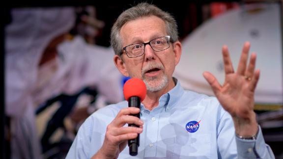 PASADENA, CA - NOVEMBER 25: In this handout provided by NASA, NASA Chief Scientist Jim Green talks about Mars InSight during a social media briefing, Sunday, Nov. 25, 2018 at NASA