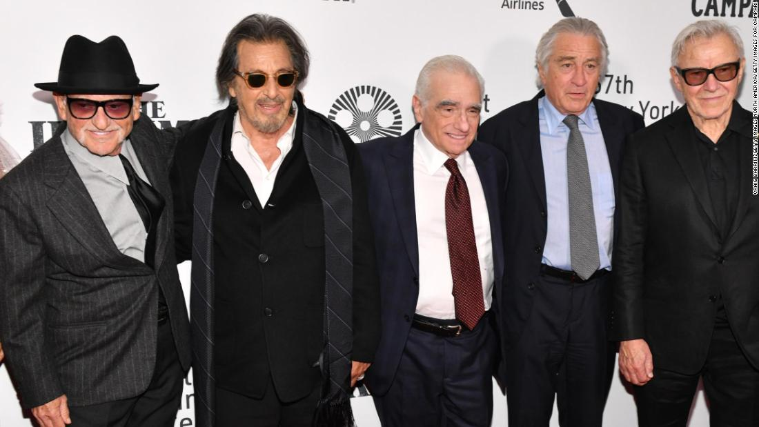 Joe Pesci stole the show at 'The Irishman' screening in New York