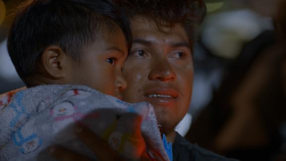 Luis Diaz with Noah in