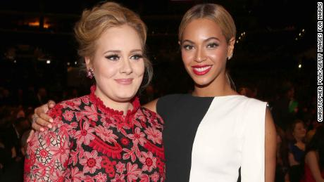 An Adele x Queen Bey jam is long overdue.