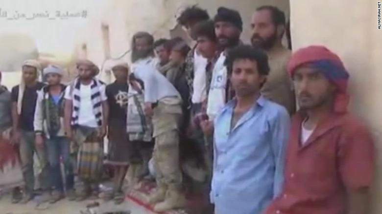 Video shows alleged attack on Saudi and Yemeni forces