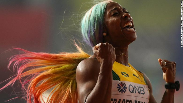 Fraser-Pryce crowned fastest woman in the world