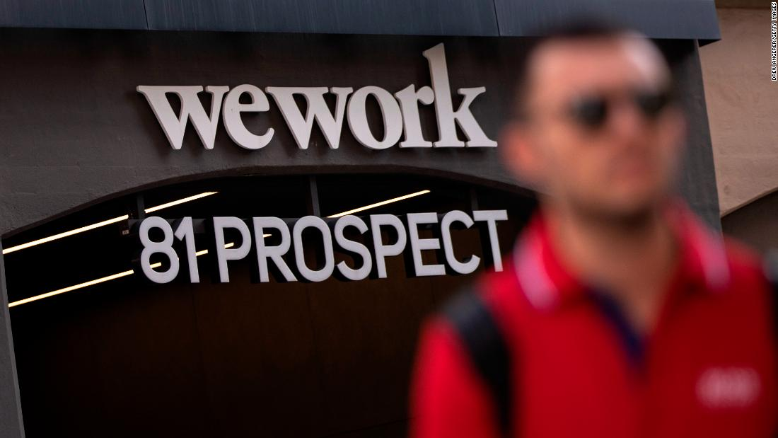 WeWork is set to weigh last-ditch financing options