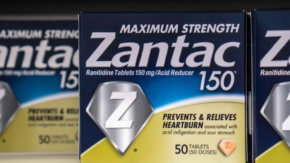 Over the counter Zantac  is used for acid reflux and heartburn and, according to FDA, may contain a carcinogen.