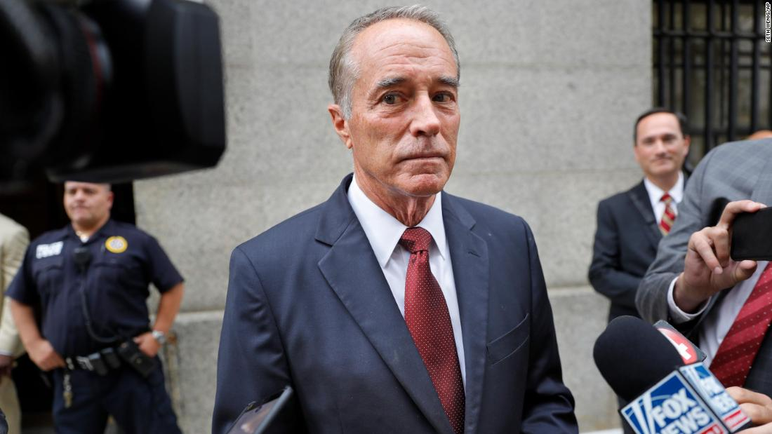 Former Rep. Chris Collins sentenced to 26 months in prison in insider trading case