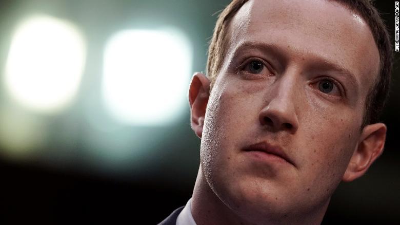 Zuckerberg says legal battles during a Warren presidency would 'suck'