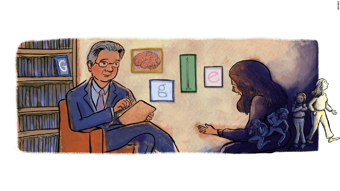 Tuesday's Google Doodle honors Herbert Kleber, a pioneer of addiction treatment