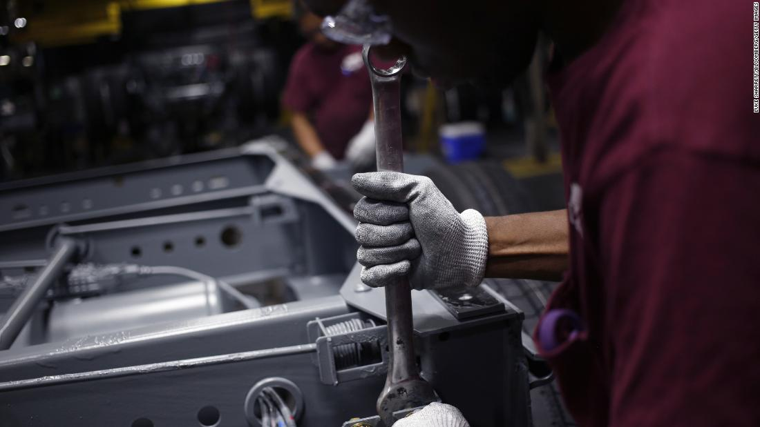 Amerika ' s Fabriken sind zerquetscht, von Trump Handels-Krieg, nicht die Fed