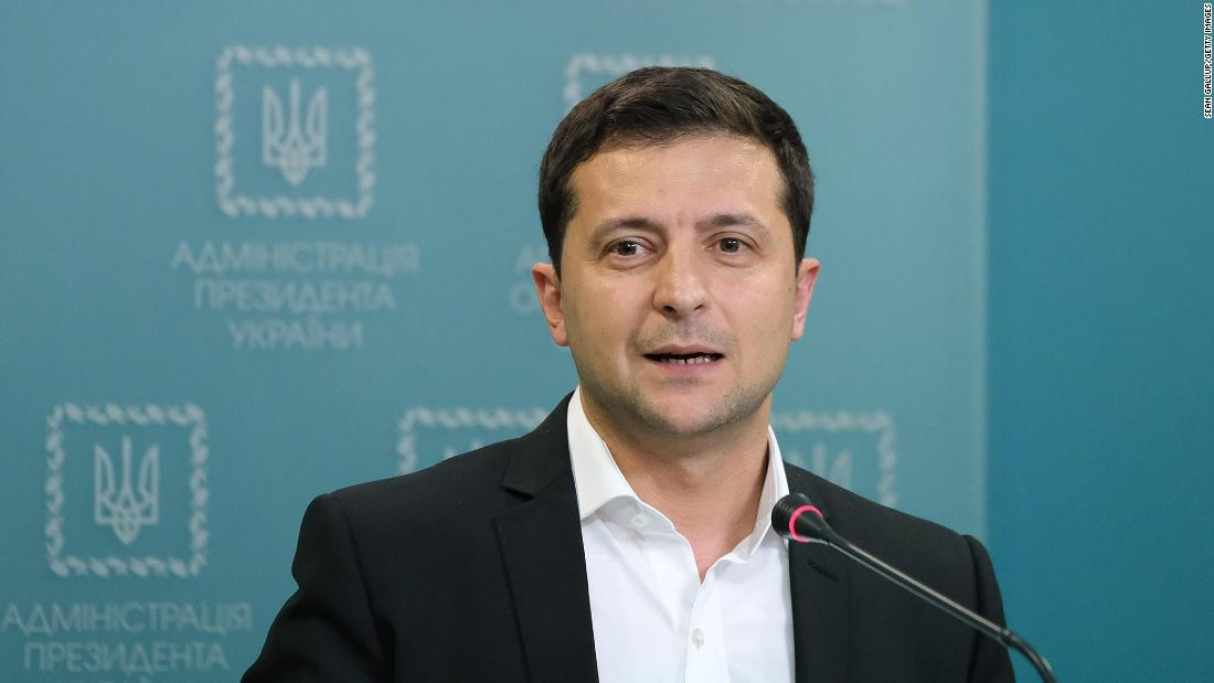 CNN asks Zelensky about investigation claims