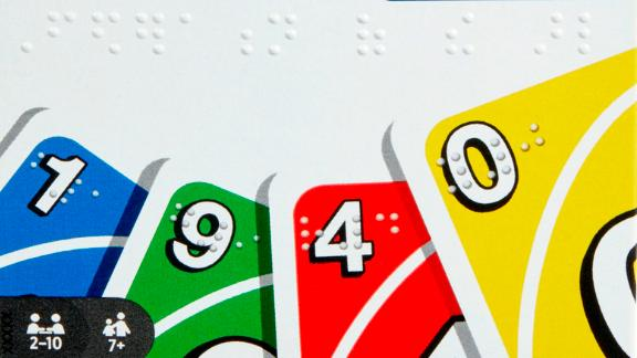 There's a new version of UNO and this one includes braille.