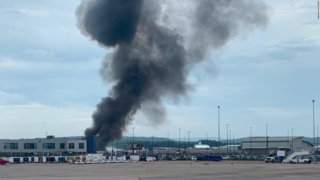 WWII-era plane crashes in Connecticut