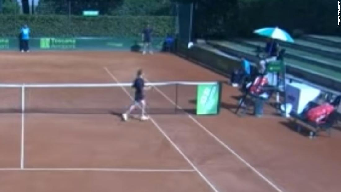 Tennis umpire suspended for telling teen ballgirl she was 'very sexy'