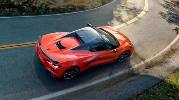 The 2020 Chevrolet Corvette Stingray convertible will be the first with a hard, rather than cloth, roof.