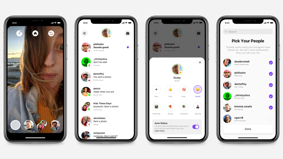 Instagram's new app, Threads, is for messaging your close friends.