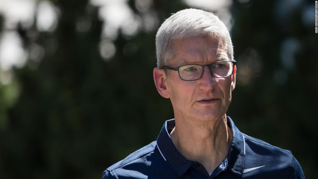 China says Apple CEO met top regulator in Beijing for a 'deep discussion'