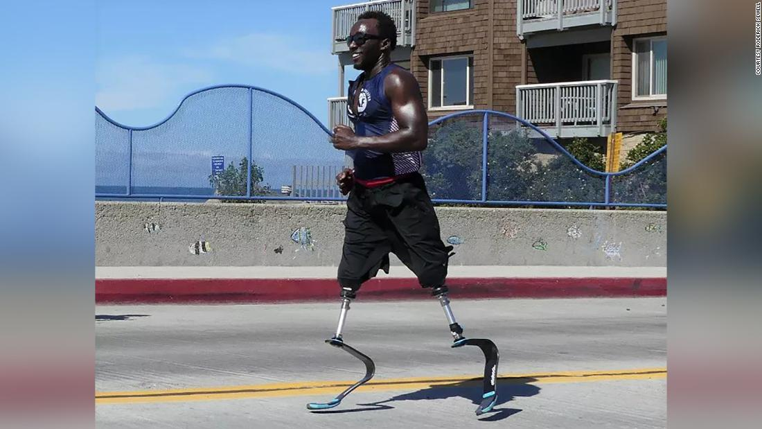 He doesn't have legs and spent years on the streets. Now he is running one of the world's hardest races
