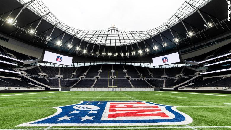 Nfl London Games 2020.Tottenham S Nfl Ready Stadium