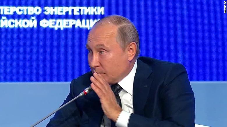 Putin Jokes That Russia Will Meddle In 2020 Us Elections Cnnpolitics