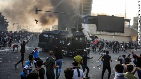 Death toll rises to 93 in Iraq amid ongoing protests