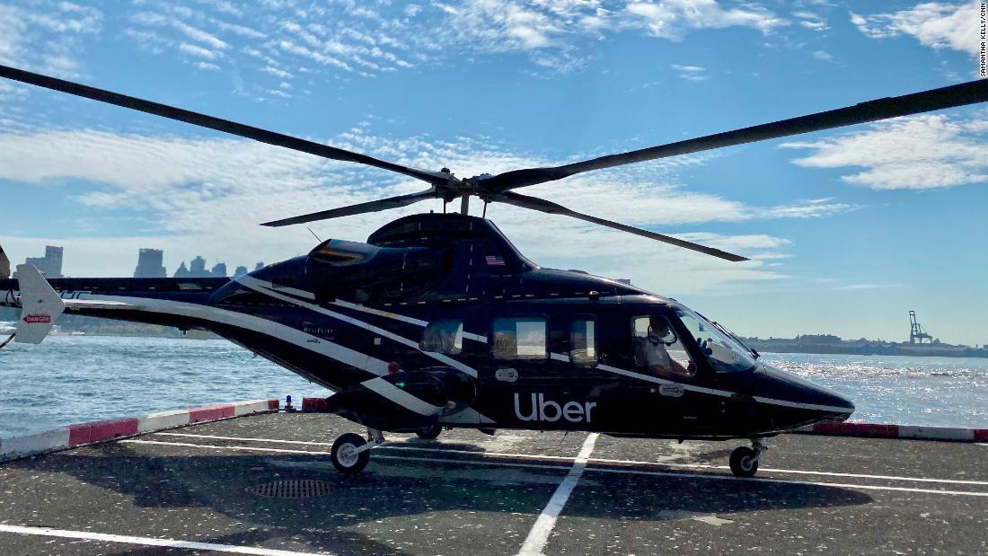 Uberの新しいヘリコプターサービスが高く、コストと時間がかかったり冒険