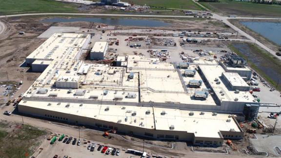 Costco's nearly 400,000 square-foot processing plant in Fremont, Nebraska, will eventually employ 950 workers.