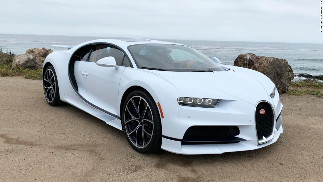 Jalan tersandung di $3 juta Bugatti