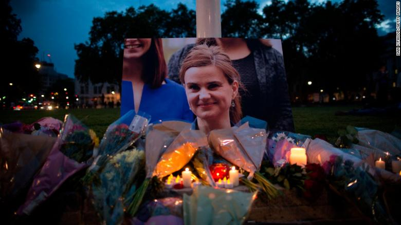 Jo Cox, 41, was shot and stabbed in her constituicency.