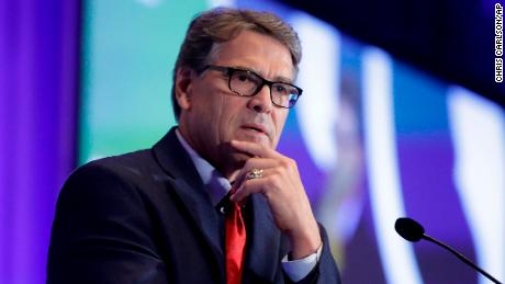 Rick Perry is anonymous in the Trump Cabinet no more as Ukraine questions mount