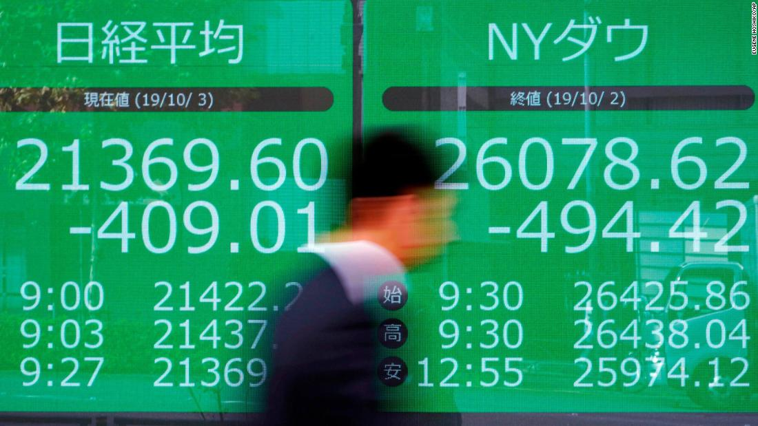 Asian markets are muted, and economy worries aren't going away