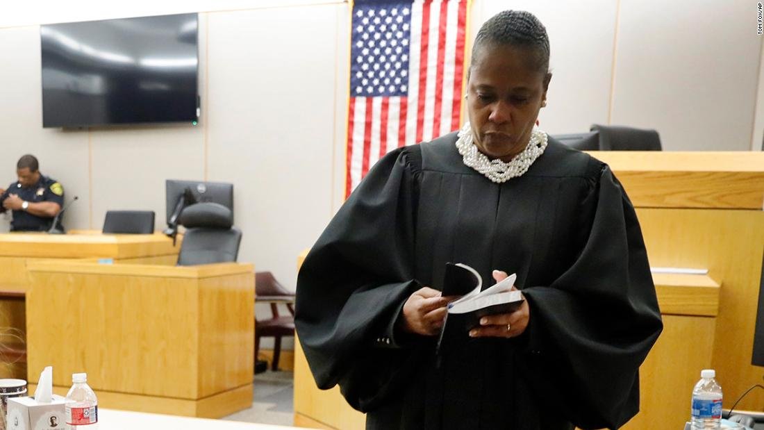 Judge who gave convicted murderer Amber Guyger a Bible is accused of violating freedom from religion