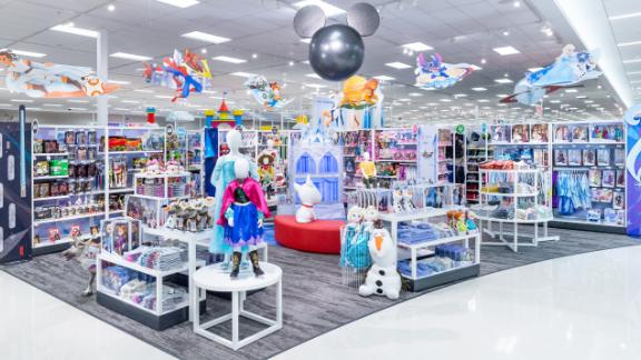 """The Disney """"shop-in-shop"""" experience at Target."""