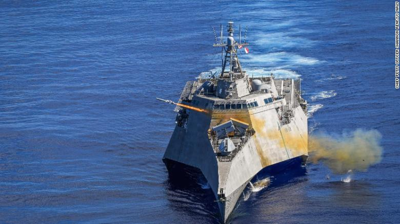 Take a look at the US Navy's latest missile