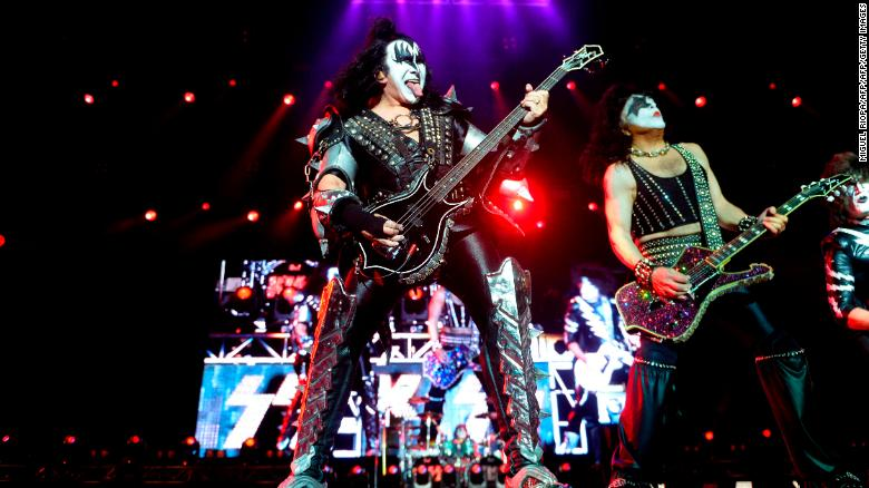 KISS postpones shows after band members test positive for Covid-19