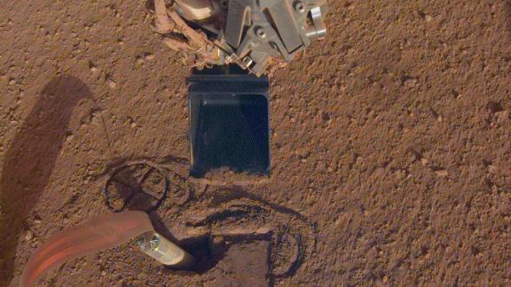 InSight's heat probe.