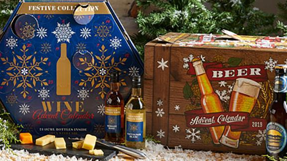 Stress of the holidays got you down? Aldi's offering 24 days of wine, beer, cheese and chocolate to take the edge off.