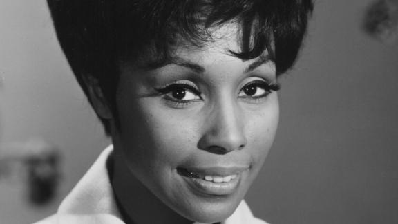 Headshot of actress Diahann Carroll, as she appears in the television show