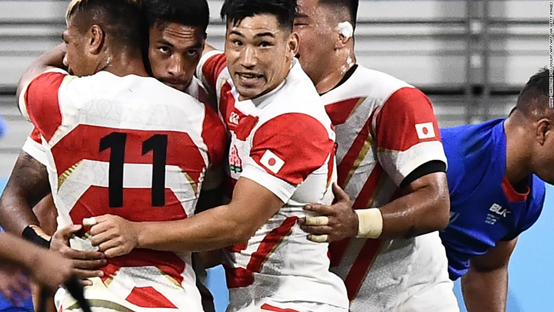 Rugby World Cup: Bonus-point win keeps host Japan on course for quarterfinals