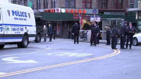 4 homeless men were killed in New York City's Chinatown area, apparently while they slept, police say