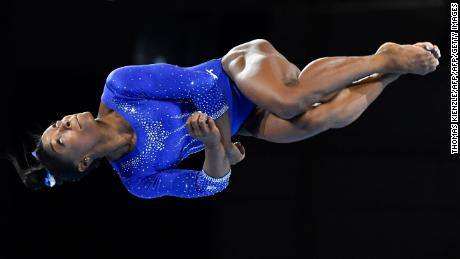 Biles gets 2 more moves now named after her