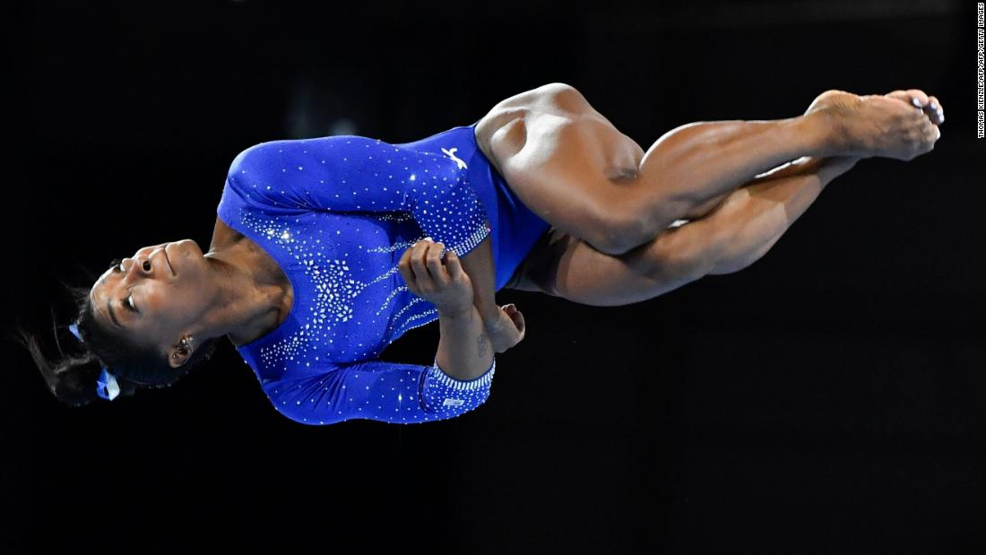 Simone Biles nails two more amazing moves that will be named after her